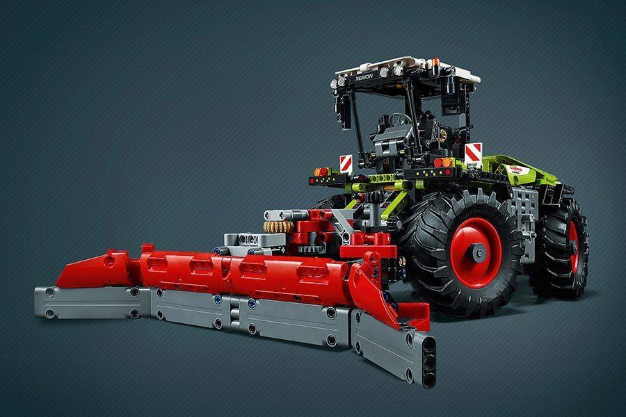 Конструктор трактор 00929