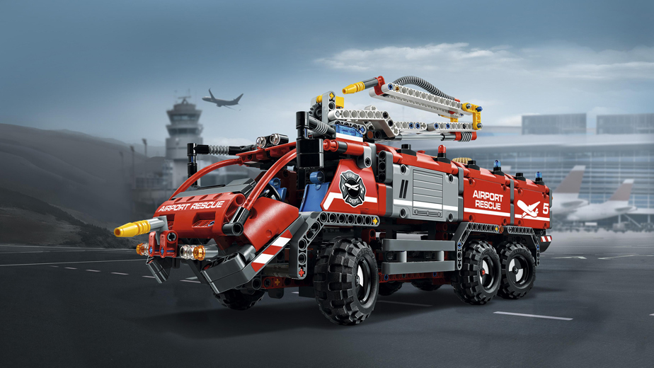 Конструктор пожарная машина 00932