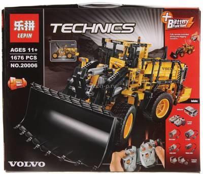 Купить конструктор LEPIN Technic Автопогрузчик LP20006