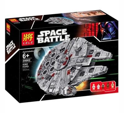 Конструктор LELE Star Wars Большой Сокол Тысячелетия 35002