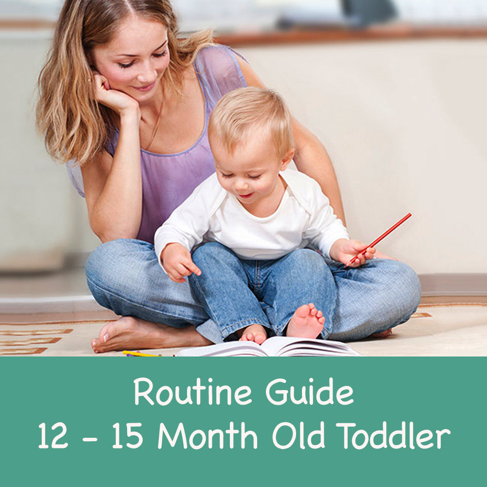 Routine Guide 12-15 Month Old Toddler 00001