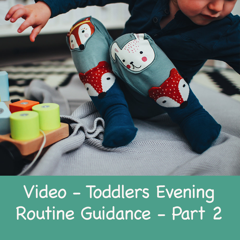 Toddler Evening Routine Guidance - Part 2
