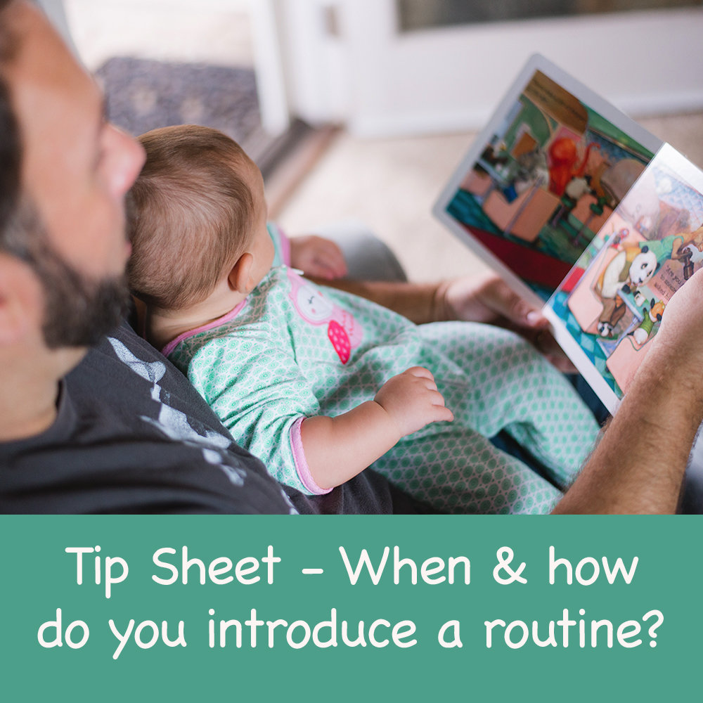 When and how do you introduce a routine? 00016
