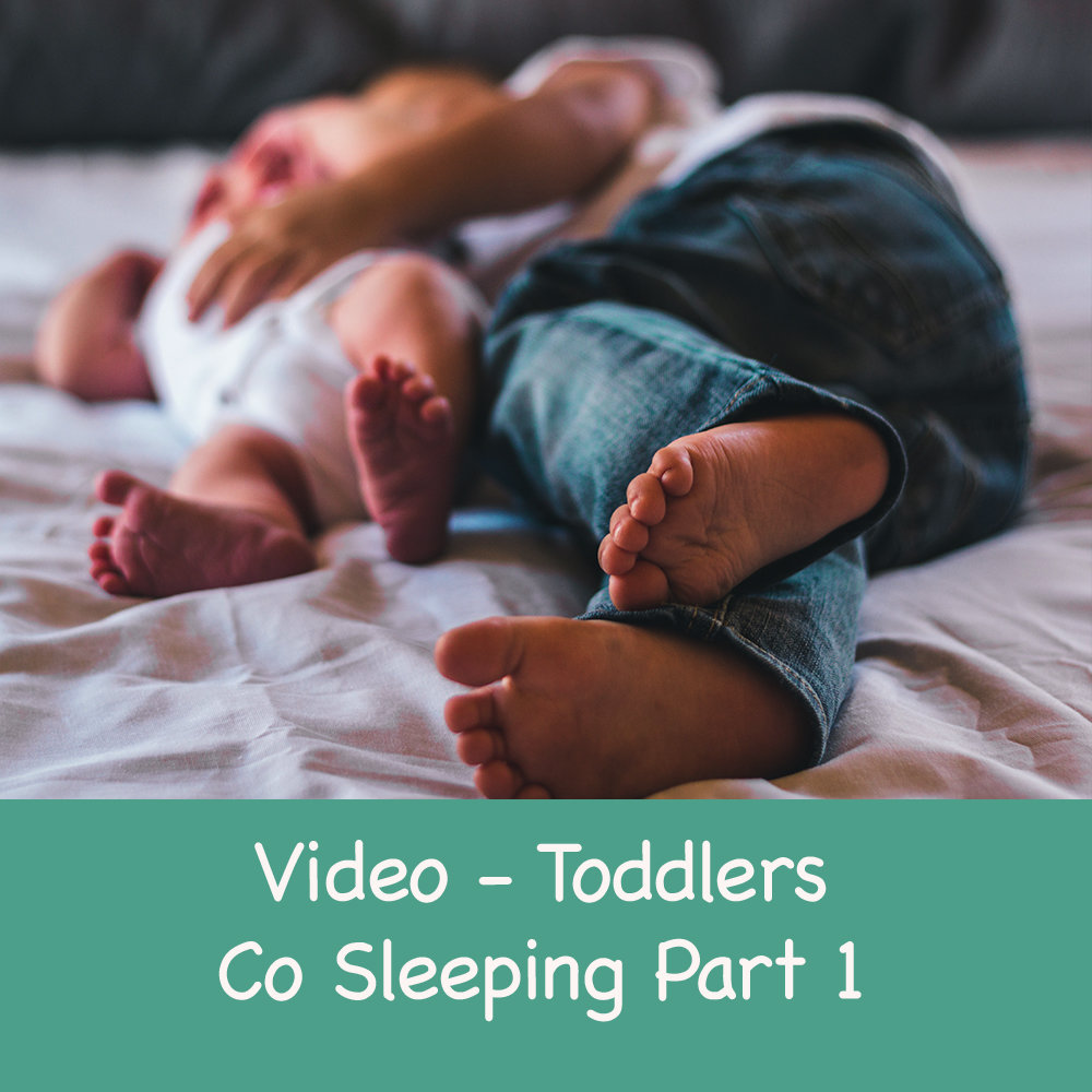 Transitioning your toddler from co sleeping to their own cot- Part 1 00019