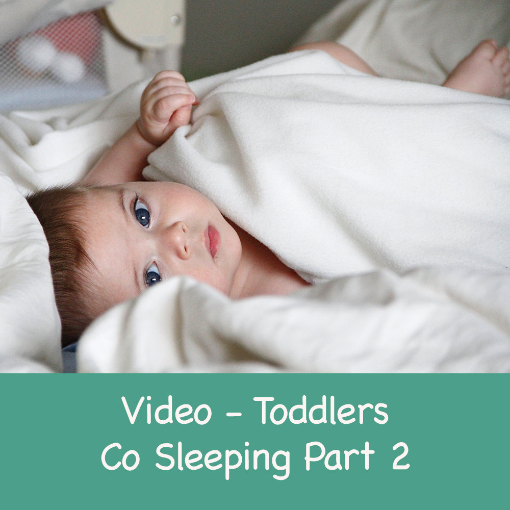 Transitioning your Baby or toddler from co sleeping to their own cot - Part 2 00020