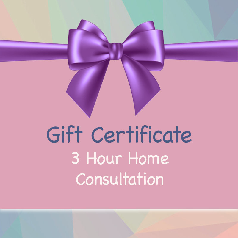 Gift Certificate - Home Consultation Package 00026