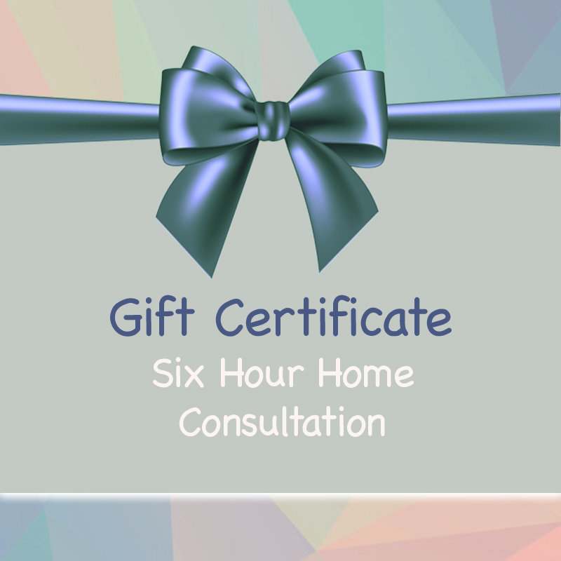 Gift Certificate - Home Consultation Package 00027
