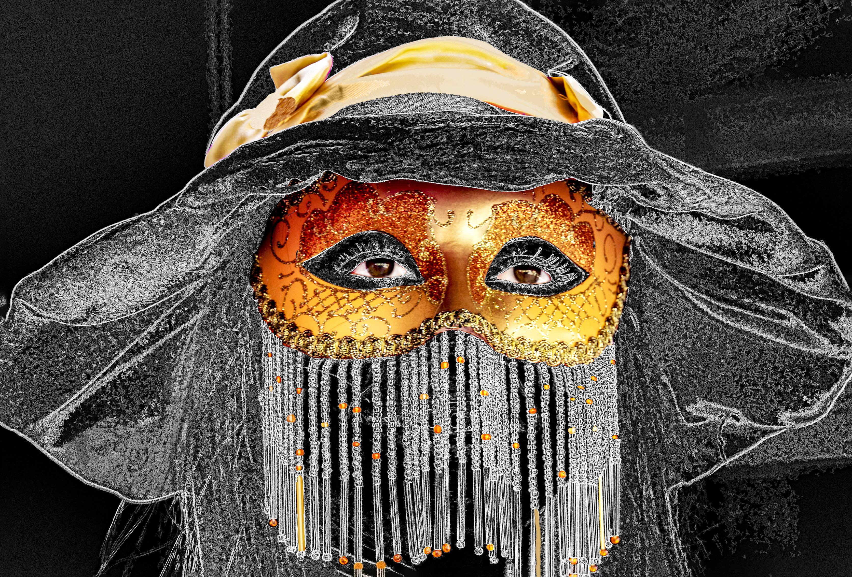 Italy - Venice Festival Mask 003-150