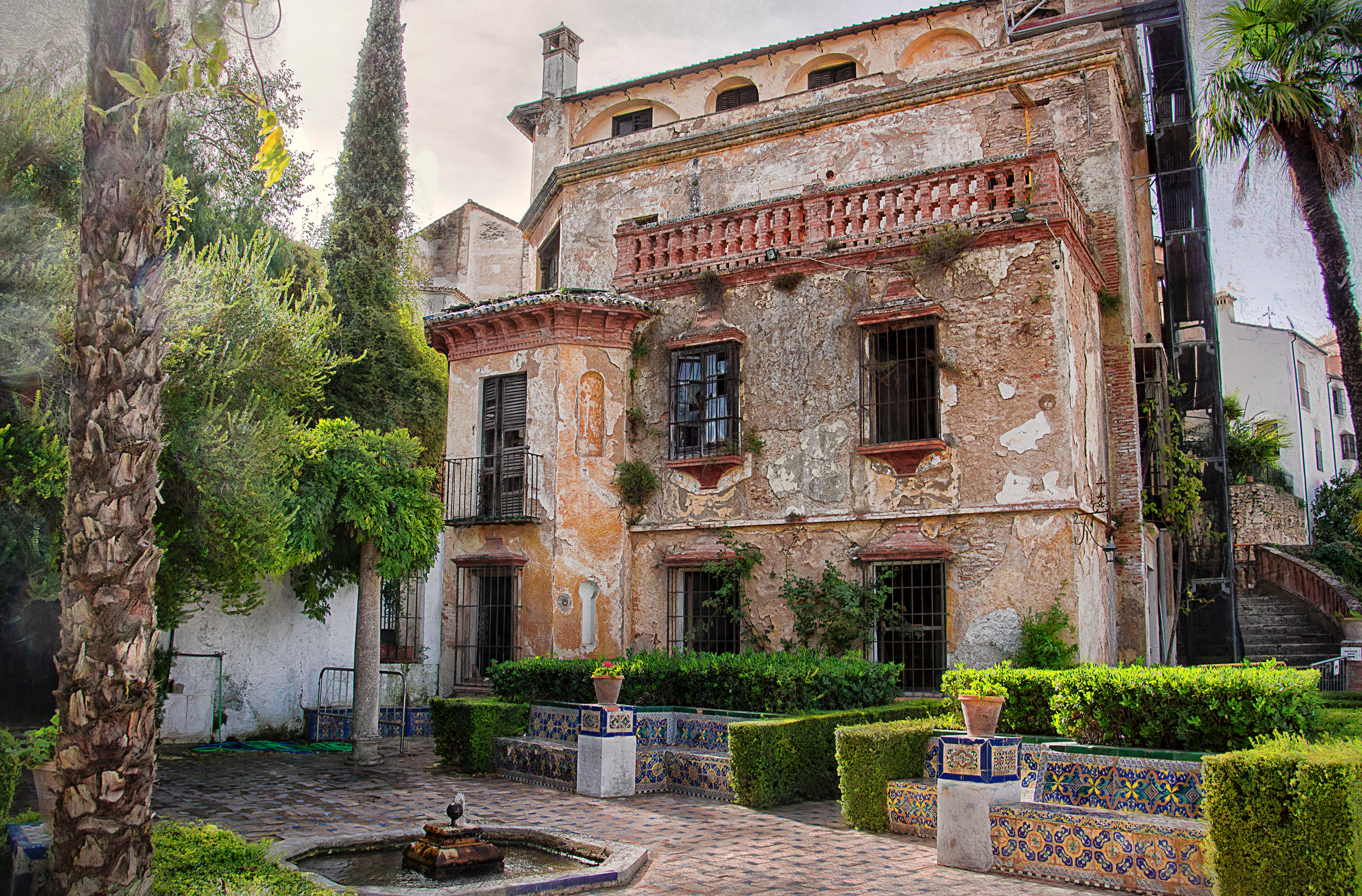Spain - The Arab Baths in Ronda 003-133
