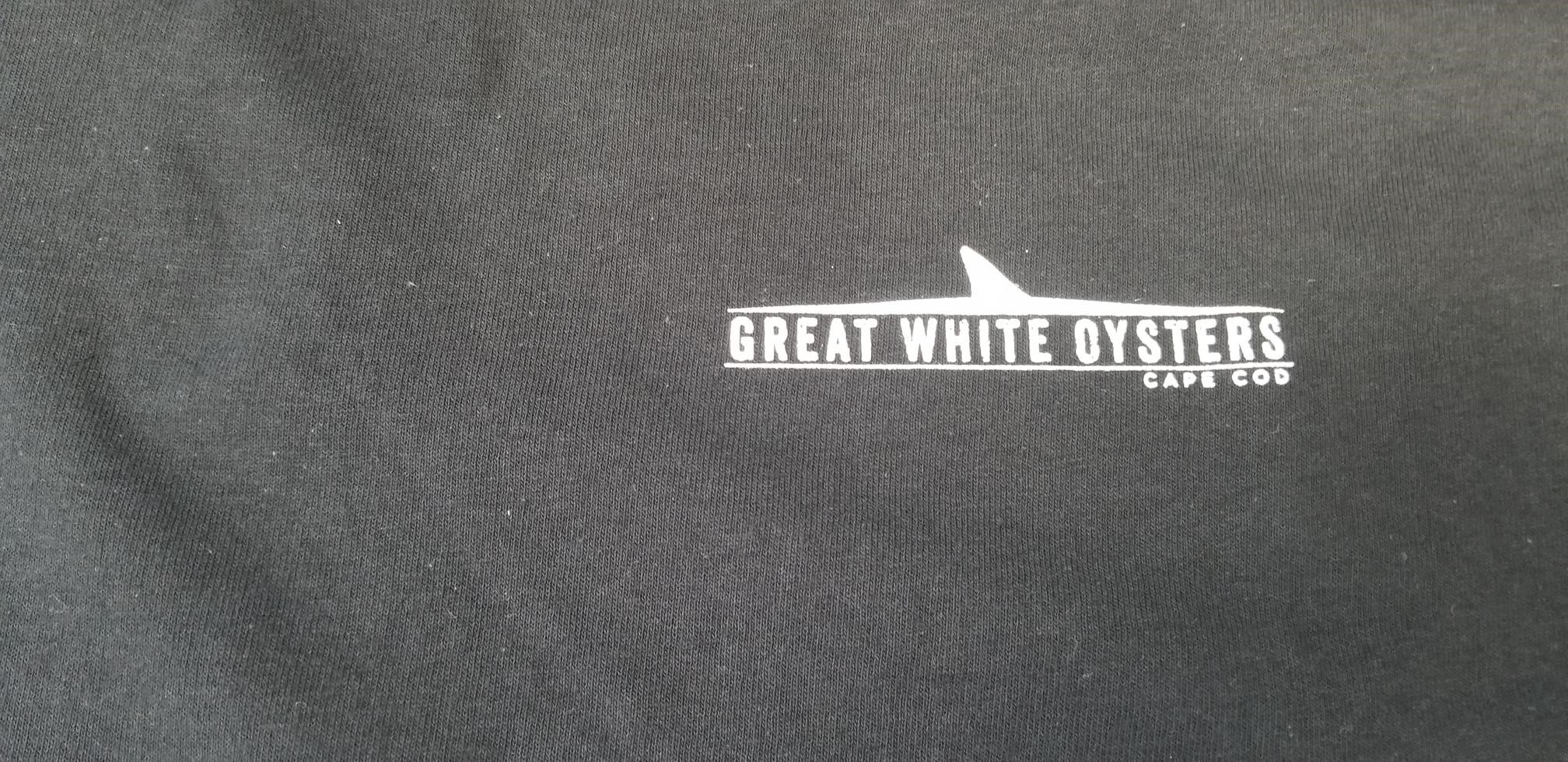 Great White Black Short sleeve T-shirt