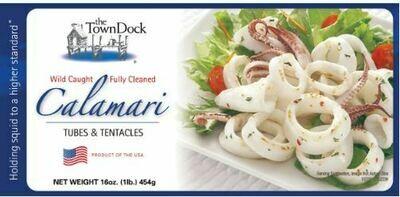 Town Dock Pt Judith RI Calamari  Tube & Tentacle - 1  lb package