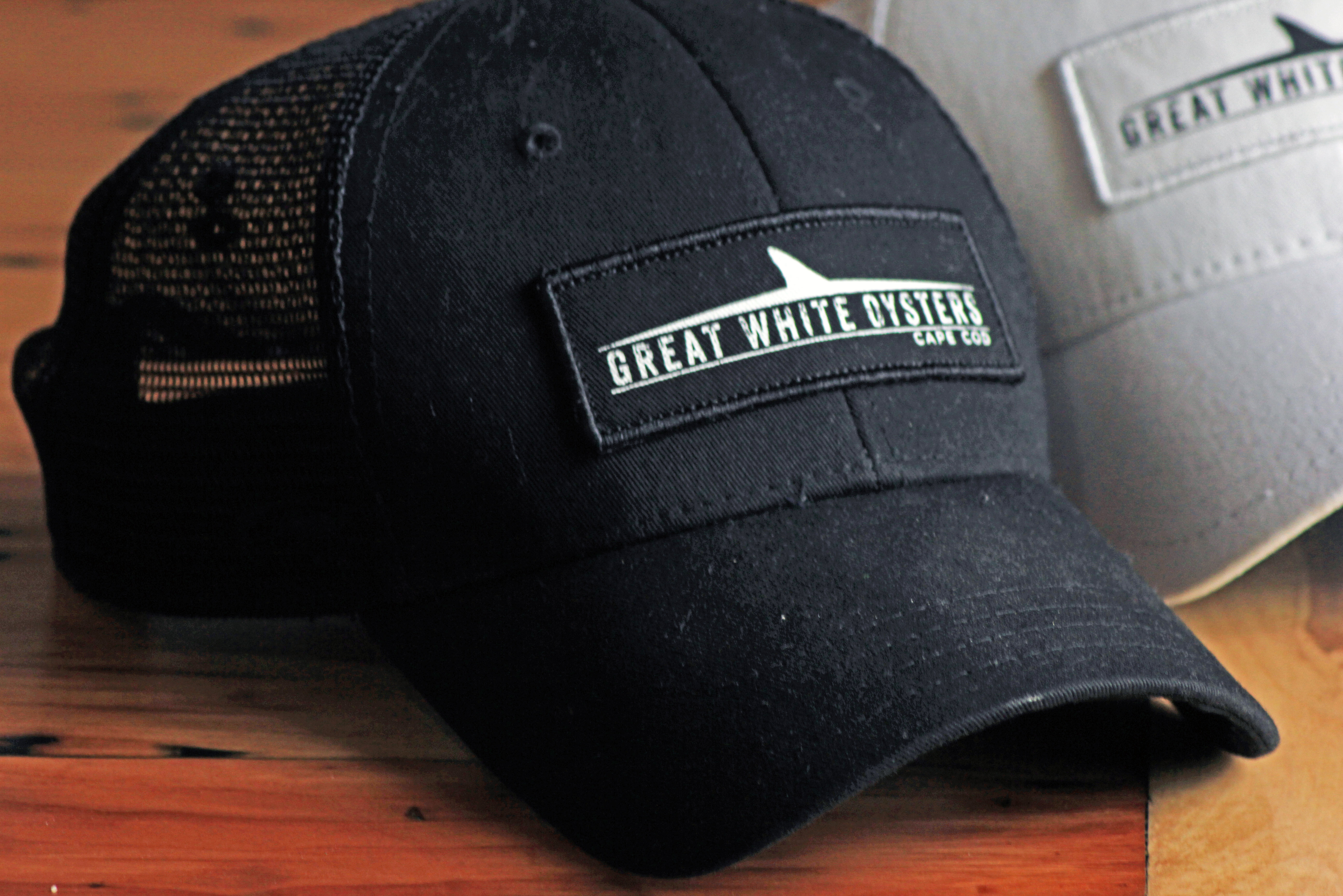 Great White Oysters Hat - Black 00005