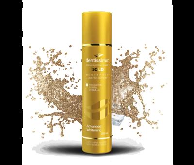 DENTISSIMO GOLD Advanced Whitening 250ml 0% Alcohol