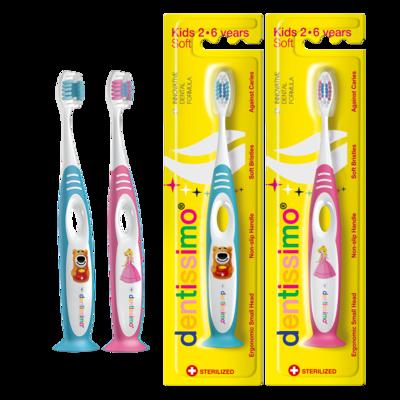 DENTISSIMO zobna ščetka Kids 2-6 let