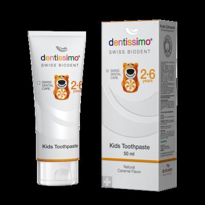 DENTISSIMO KIDS 2-6 let 50 ml