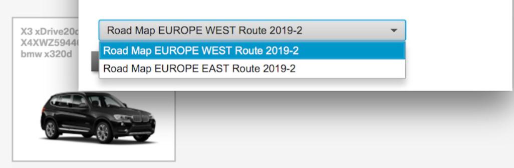 2019-2 route west & FSC code