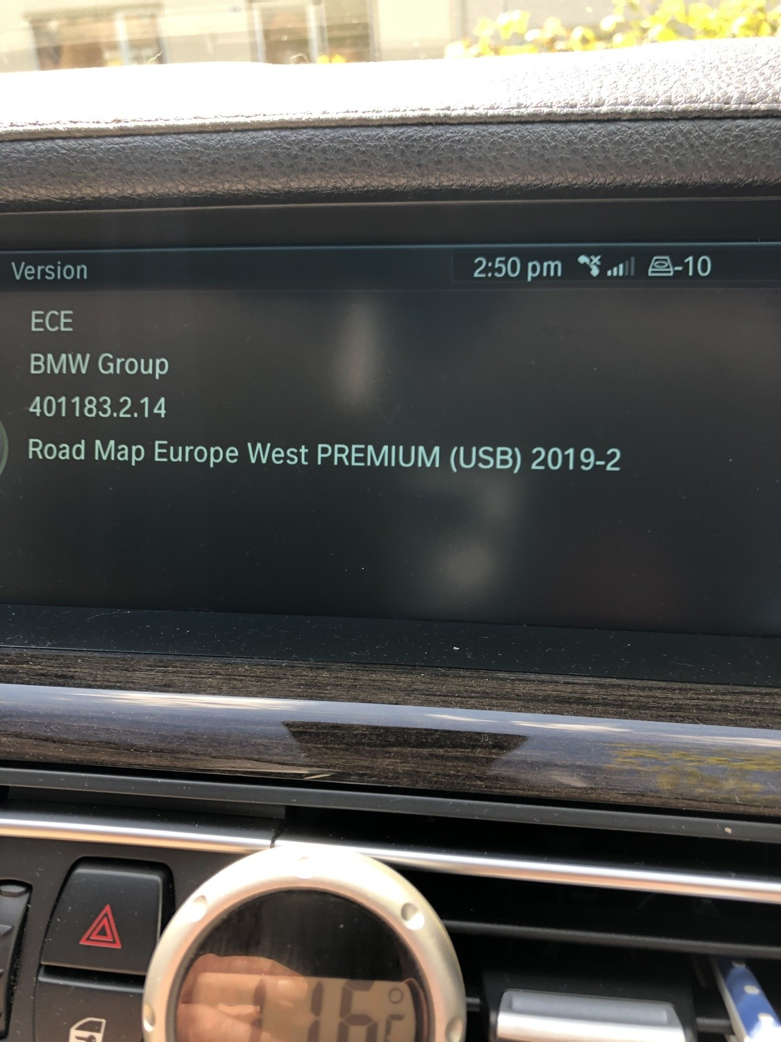 2019-2 BMW PREMIUM NEXT MOVE MOTION SAT NAV UPDATE