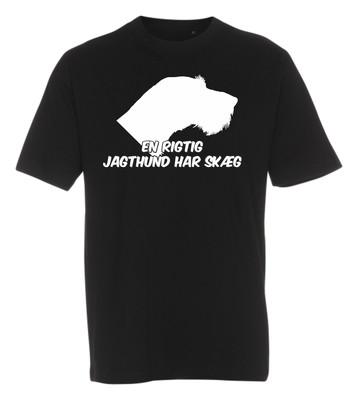 T-shirt med tryk fra XS til str. 4-XL - Ruhår