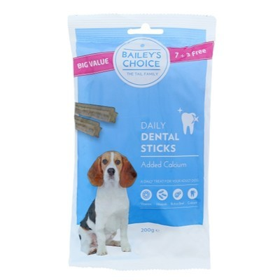 Bailey's choice dental sticks 200 gr.