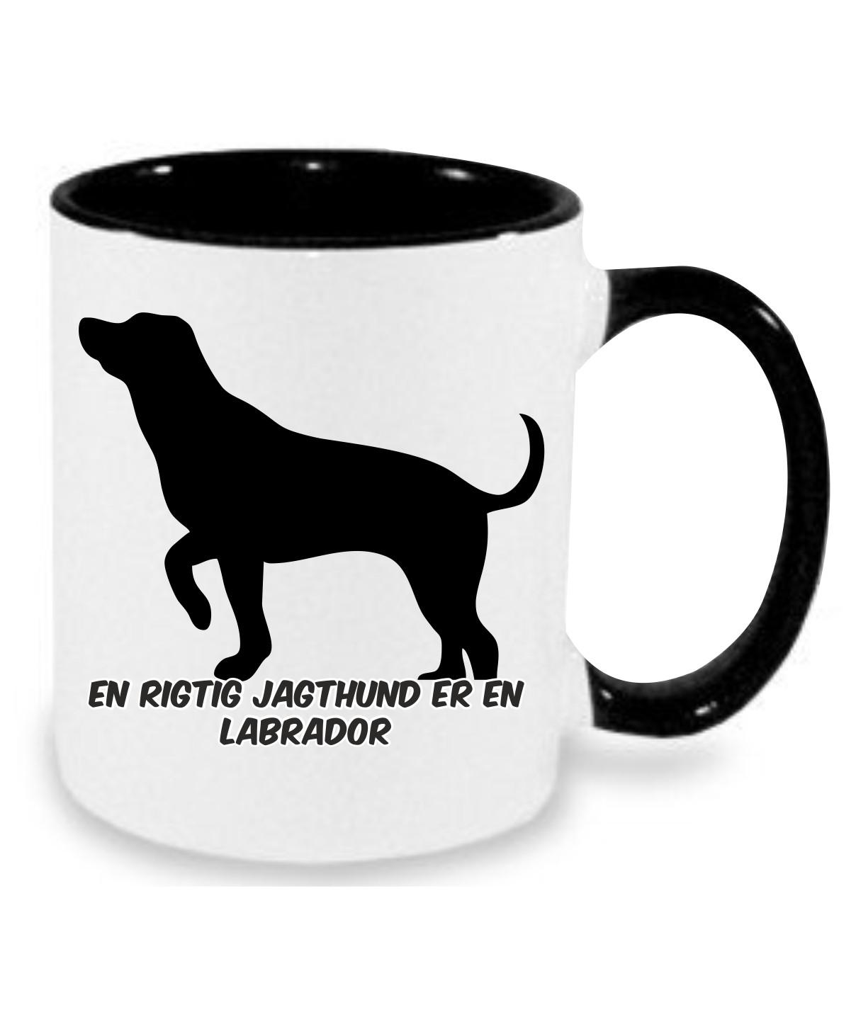 Krus med Labrador
