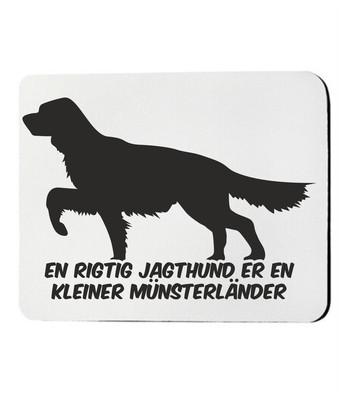 Musemåtte med Kleiner Münsterländer