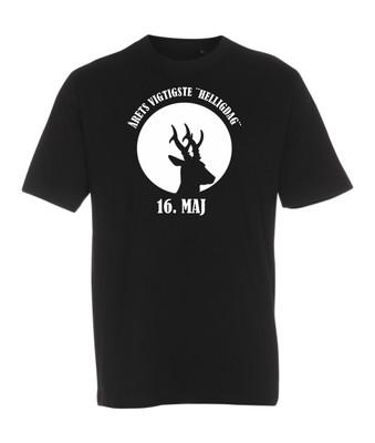 T-shirt med tryk - 16 maj.