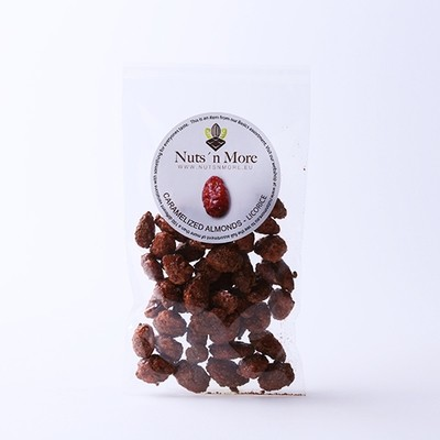 Nut`s n More - Brændte mandler – Lakrids