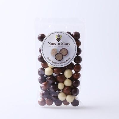 Nut`s n More - Crisp kugler – Chokolade mix