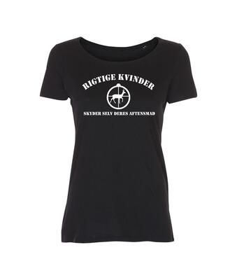 T-shirt med tryk - Rigtige kvinder