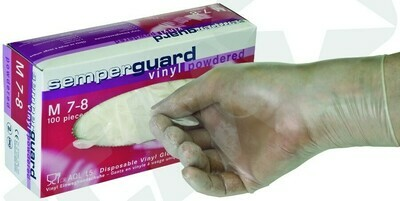 Venyl handsker