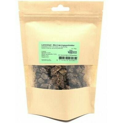 Træningsgodbidder - Lam 100 gram.