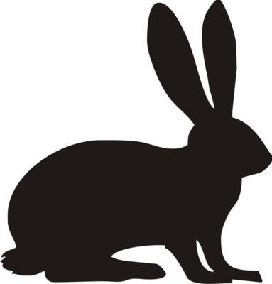 Foliemærke - Hare