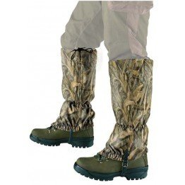 Gaiters i lys camouflage