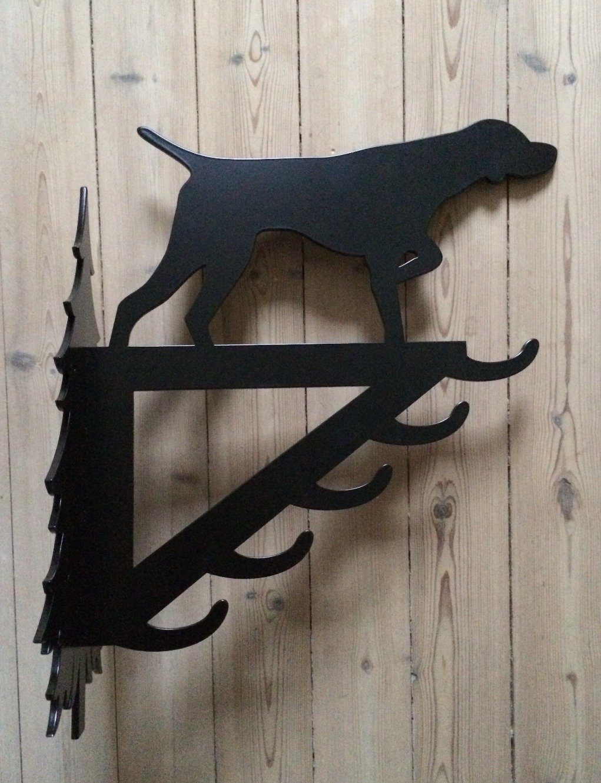 Stor vildtkrog - Stående hund 00182