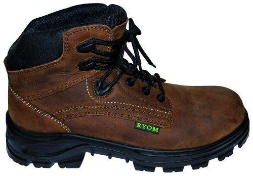 Fritidsstøvle i læder m. sikkerhed 00201