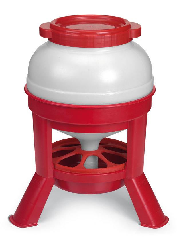 Jumbo foderautomat på ben - Flere størrelser 00280
