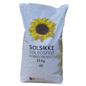 Solsikkefrø 15 kg. 00321