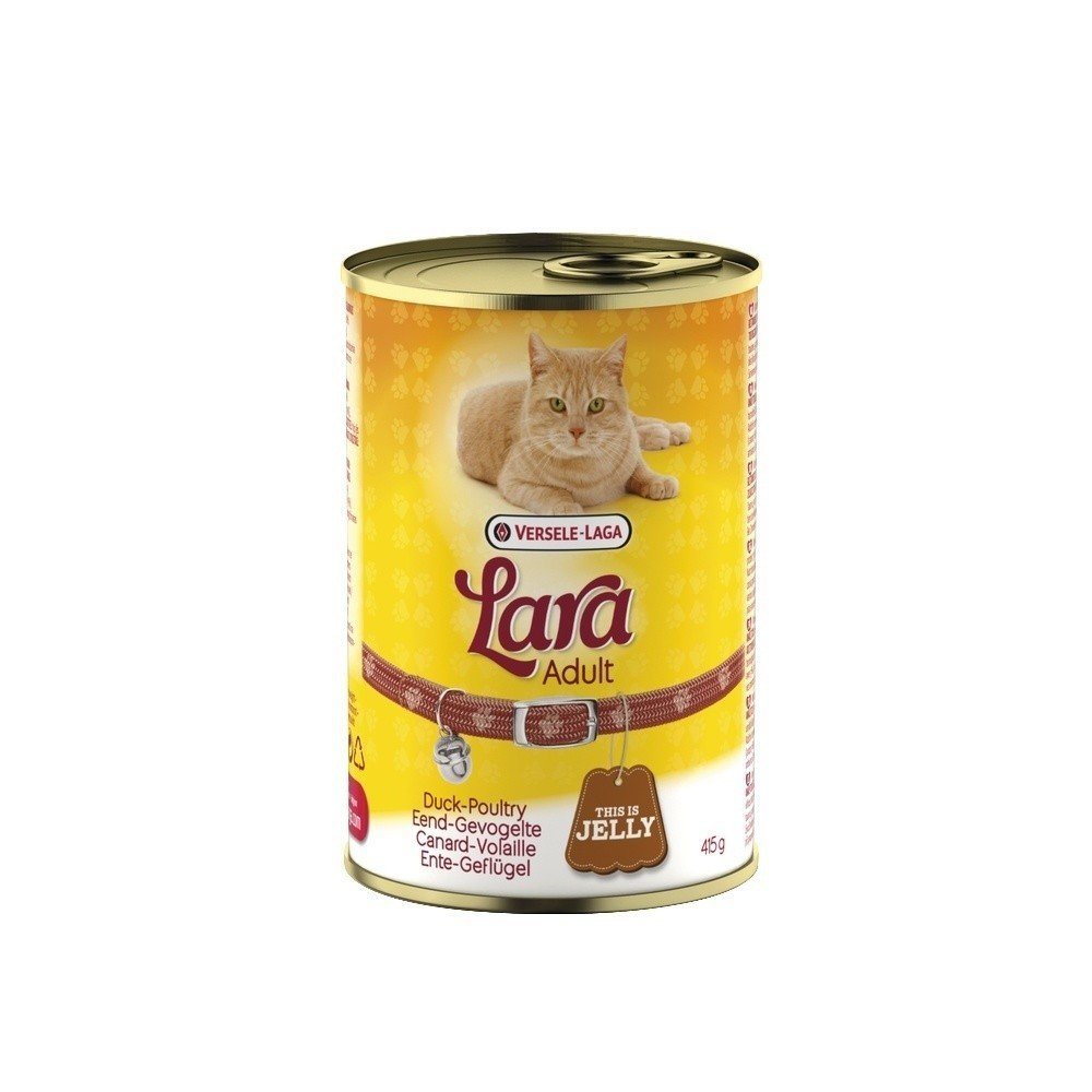 Lara Adult fjerkræ dåsemad 415 gram. 00390