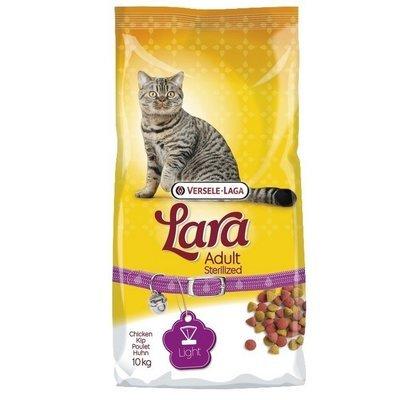 Lara steriliseret kattefoder 10 kg.