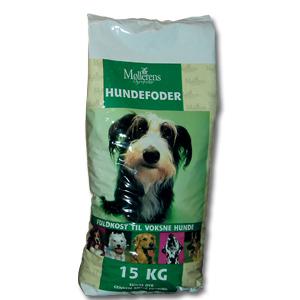 Møllerens hundefoder 15 kg. 00443