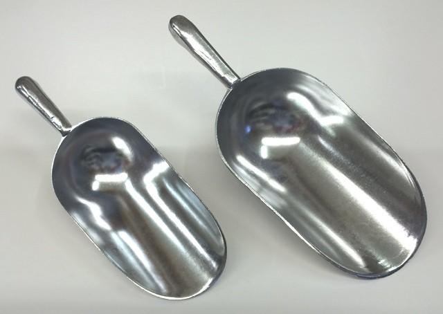 Foderskovl i aluminium 0,6 liter 00276