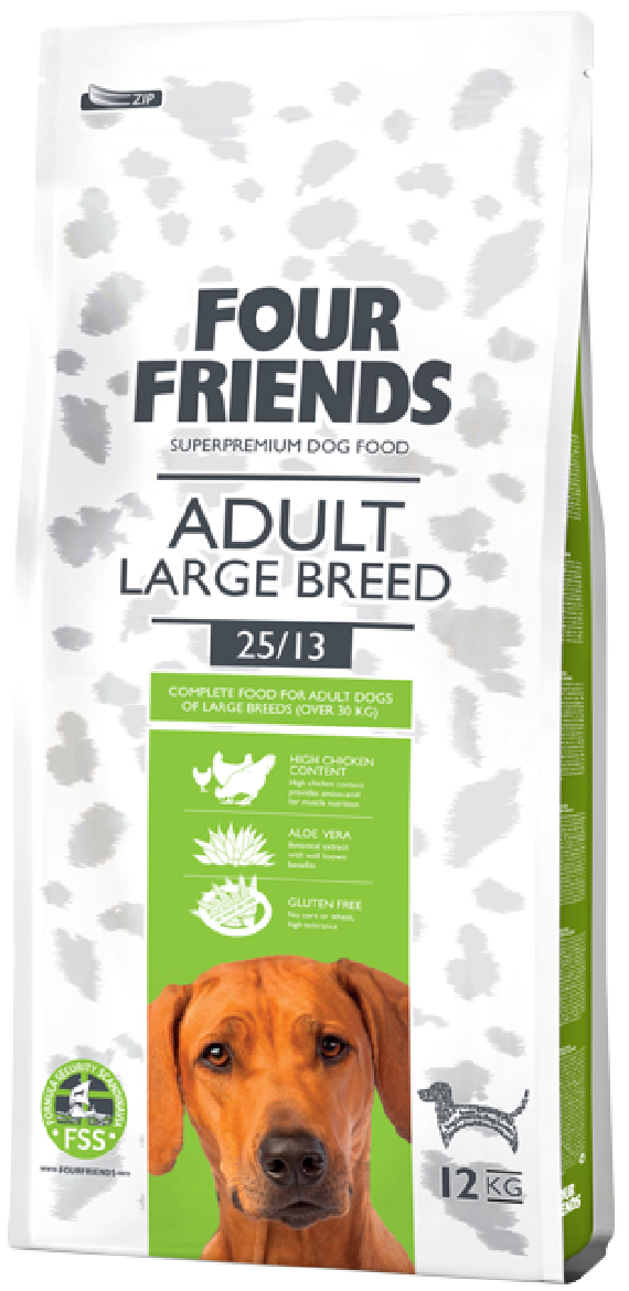 Four Friends Adult Large breed 12 kg. 00463