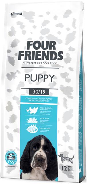 Four Friends Puppy 12 kg. 00464