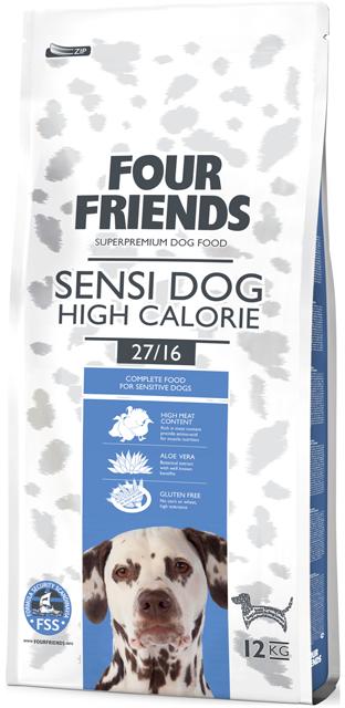 Four Friends sensi dog high calorie 12 kg. 00468