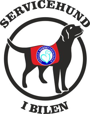 Foliemærke - Servicehund