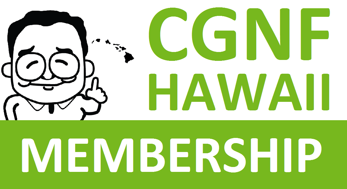 CGNF-HAWAII MEMBERSHIP (1 Year)