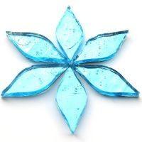 Mirror Petals - Aqua
