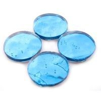 Mirror Circles 25mm, Glacial Blue
