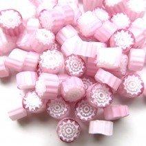 10/11 White Pink Flower