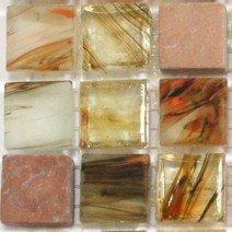 Cinnabar Marble and Glass